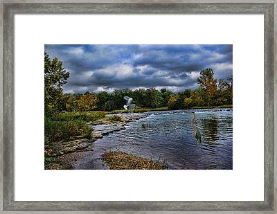 Fishing Spot Framed Print