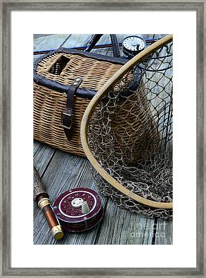 Fishing - Trout Fishing Framed Print