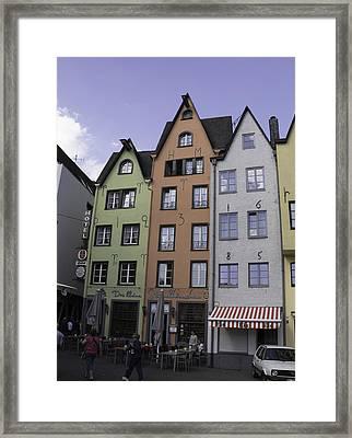 Fishmarket Townhouses 3 Framed Print by Teresa Mucha