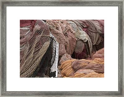 Fishnets Framed Print by Frank Tschakert