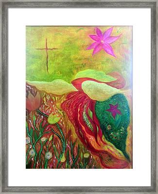 Fishstiqueart 2010 Framed Print by Elmer Baez