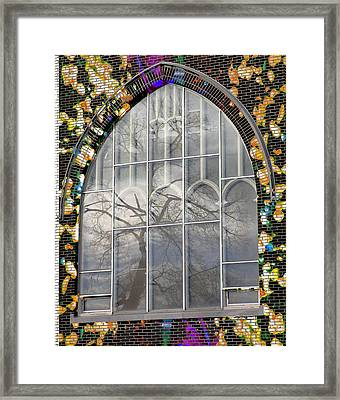 Fishtree Framed Print by Lola Connelly