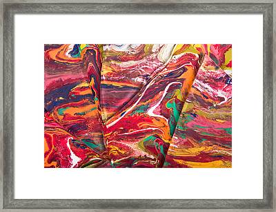 Fissure Framed Print by Jacob Brewer