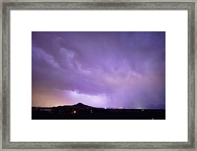 Fist Bust Of Power Framed Print by James BO  Insogna
