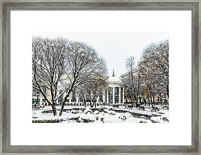 First December Snow Framed Print