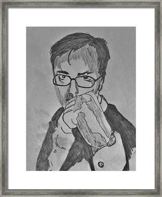 Fist Of Fury Framed Print by Mark Greenhalgh