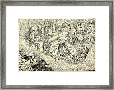 Fit The Sixth: The Barrister's Dream Framed Print by British Library