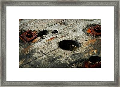 Fitting In Framed Print by Rebecca Sherman