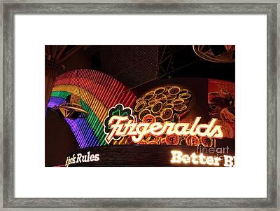 Fitzgeralds Framed Print