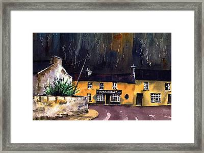 Fitzgeralds Pub Avoca  Wicklow Framed Print