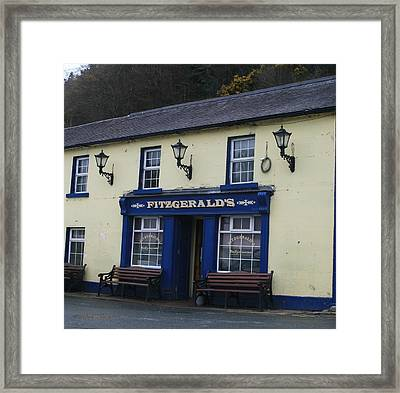 Fitzgeralds  Pub From Ballykissangel Framed Print