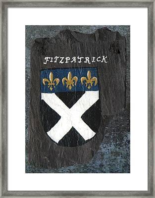 Fitzpatrick Framed Print by Barbara McDevitt