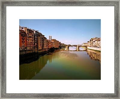 Fiume Di Sogni Framed Print by Micki Findlay