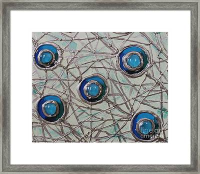 Five Circles Framed Print