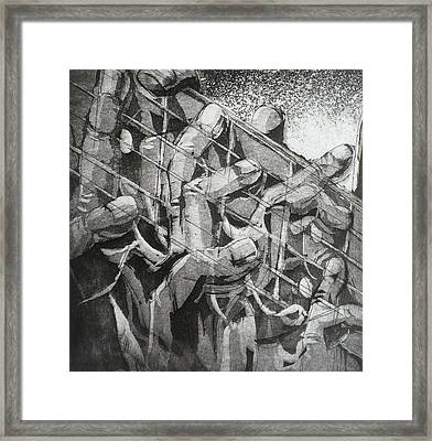 Five Dancers Framed Print by Chad Rice