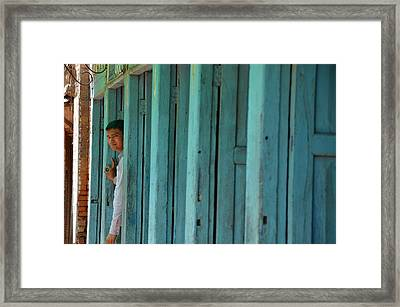 Five Doors Down Framed Print by Aaron Bedell
