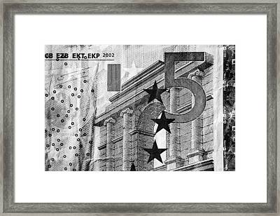 Five Euro Framed Print by Semmick Photo