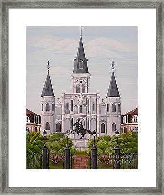 Five Fifteen In New Orleans Framed Print