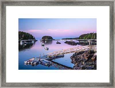 Five Islands Dawn Framed Print by Susan Cole Kelly