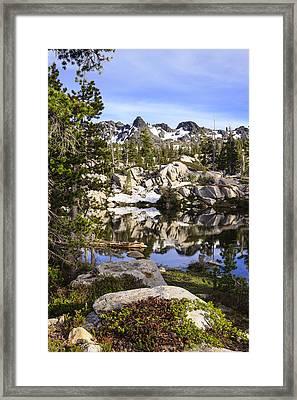 Five Lakes Basin 2 Framed Print by Karma Boyer