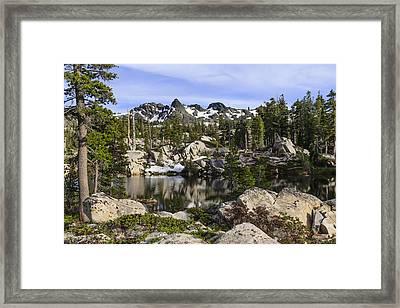 Five Lakes Basin Framed Print by Karma Boyer