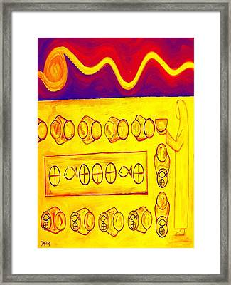 Five Loaves And Two Fish 3 Framed Print by Patrick J Murphy