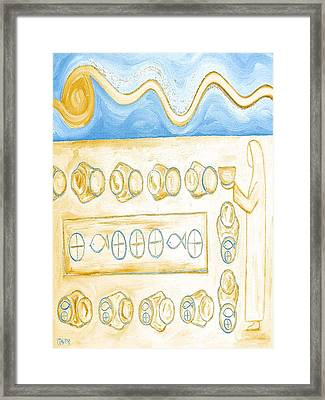 Five Loaves And Two Fish 6 Framed Print by Patrick J Murphy