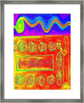 Five Loaves And Two Fish 7 Framed Print by Patrick J Murphy