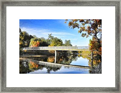 Five Mile Bidwell Park Framed Print