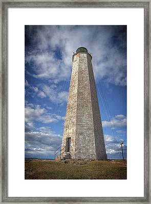Five Mile Point Lighthouse Framed Print