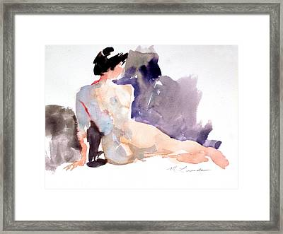Five Minute Nude Framed Print