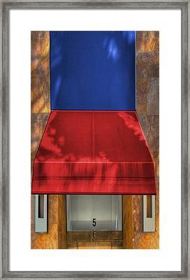 Five Framed Print by Paul Wear