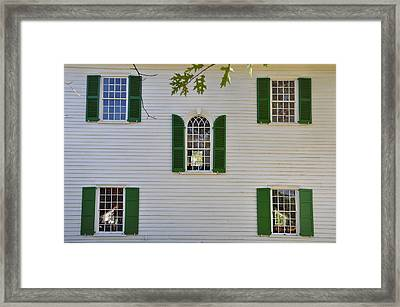 Five Windows Framed Print by Bill Cannon