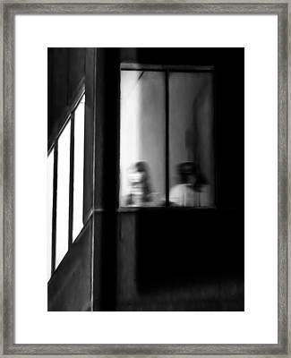 Five Windows Framed Print by Bob Orsillo
