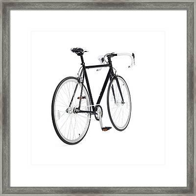 Fixed-gear Road Bike Framed Print