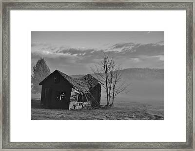 Framed Print featuring the photograph Fixer Upper by Paul Noble
