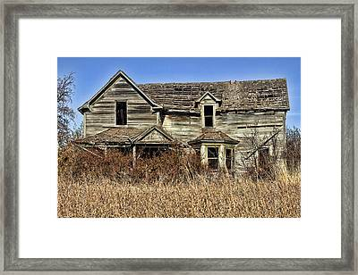 Fixer Upper Framed Print by Ron Roberts