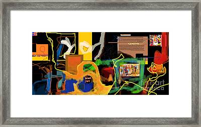 Fixing Space 1l Framed Print by David Baruch Wolk