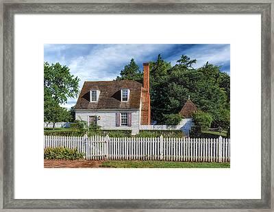 Old Cottage  -  Wmbgva2436 Framed Print