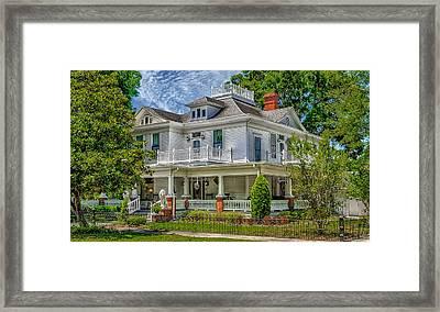 Florida Home - Historic District Framed Print