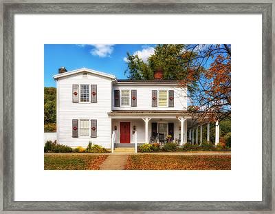 Beam Family Home Framed Print by Frank J Benz