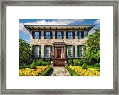 Historic Home - Savannah Framed Print