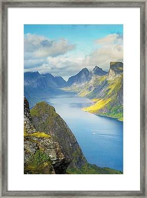 Fjord Framed Print
