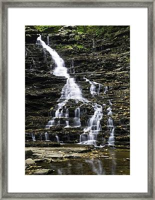 Fl Ricketts Falls Framed Print