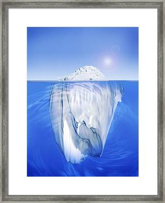 Fl6479, Jim Tiniosted Sheppard Ice Framed Print