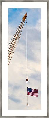 Flag 1 Framed Print by Mike Tanner