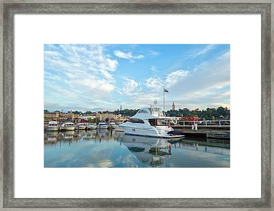 Flag View II Framed Print