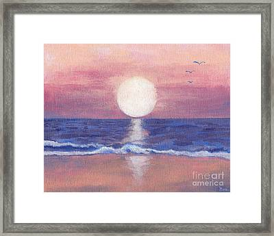 Flagler Beach Dream Framed Print