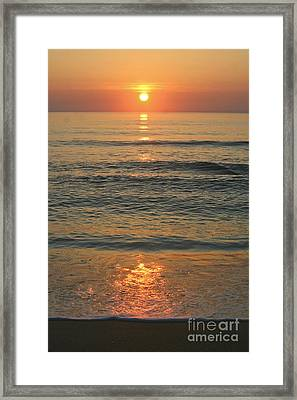 Flagler Beach Sunrise Framed Print