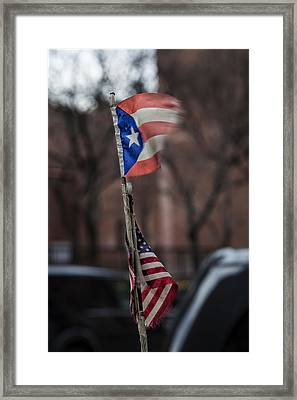 Flags Framed Print by Robert Ullmann